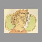 Original signed lithograph de Cuevas Jose Luis : Portrait