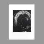 Original signed etching de Dublineau Yannick : Ronde nocturne