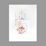 Gravure originale signée de Dimanov Luben : Shakespeare Societies IV