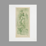 Original lithograph de Estampe Moderne : Danse