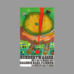 Original poster de Hundertwasser F. : Gallery Karl Flinker
