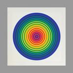Original signed screenprint de Le Parc Julio : Color n°1 - 3