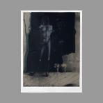 Original signed lithograph de Wunderlich Paul : Adam sich an das B�umchen der Erkenntnis haltend