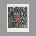 Original signed etching de Bilan Richard : Abstract composition I