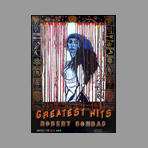 Affiche signée de Combas Robert : Greatest hits