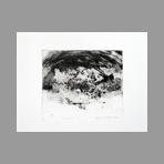 Original signed etching de Dublineau Yannick : Embruns