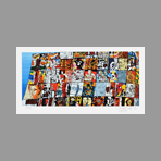 Signed print de Erro Gudmundur : Tribute to L�ger