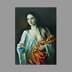 Signed photograph de Vargas Mariano : Flora