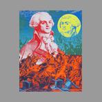 Original signed screenprint de Erro Gudmundur : Robespierre