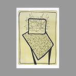 Lithographie originale signée de Wesel Leo : North or South