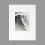 Original signed engraving de Abé Akira : Parfois une vague n°10 II