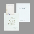 Fassianos Livre avec lithographie