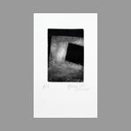 Original signed etching de Dublineau Yannick : Black square