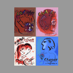 Chagall Livre illustré