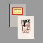 Alechinsky Livre avec gravure