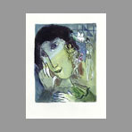 Chagall Marc, Extrait de l'ouvrage Chagall Lithographe III