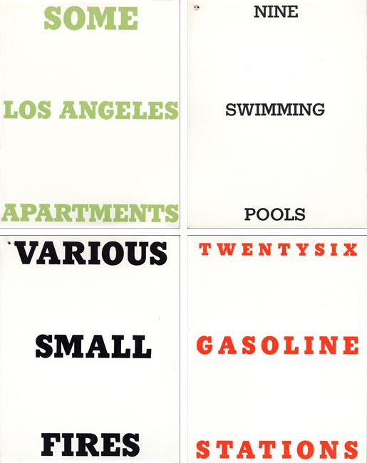 Ruscha Nine Swimming Pools Twentysix Gasoline Stations Et Autres
