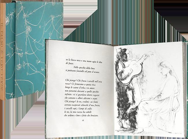 Giacomo Manzu Il Falso E Vero Verde 1954 Book Lithographs