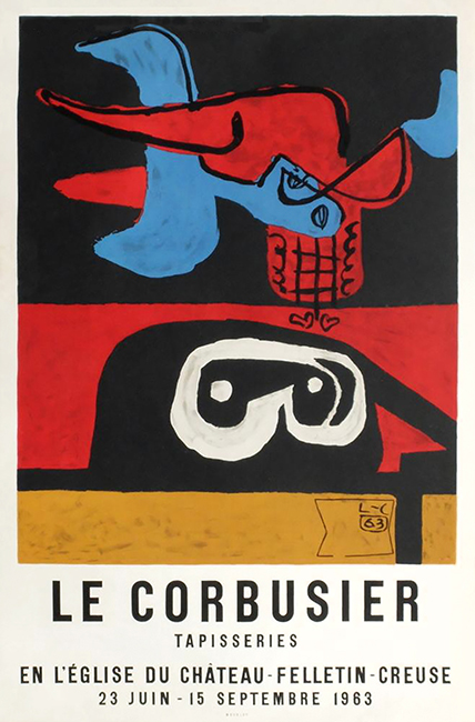 Galerie Michelle Champetier : Jeanneret Le Corbusier / Le Corbusier  Tapisseries