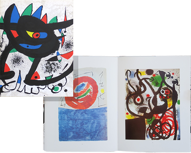 Catalogue Of Exhibition Joan Miro Paintings Gouaches 1973 Lithograph