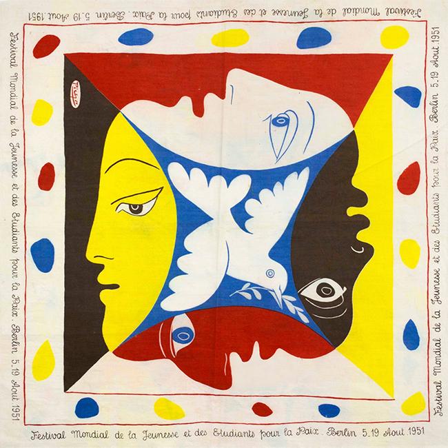 Galerie Michelle Champetier Pablo Picasso Festival Mondial De La Jeunesse