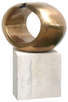 Original signed sculpture de Dekker An : The circle