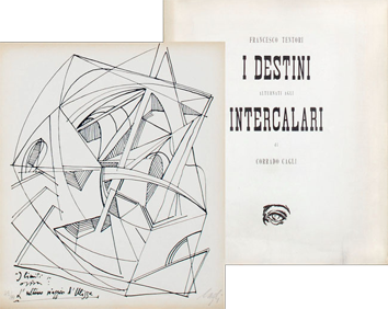 Livre avec lithographies de  : I destini alternati agli intercalari