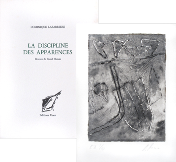 Book with etching de  : La discipline des apparences
