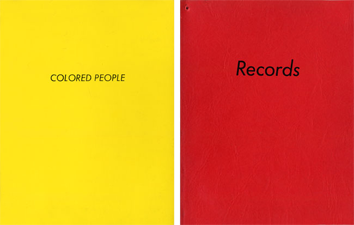 Livre illustré de  : Records, Colored People