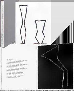 Livre avec gravures de  : Thrène, pour des siècles défunts