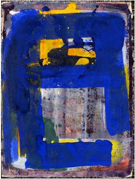 Aquarelle originale signée de  : Composition II