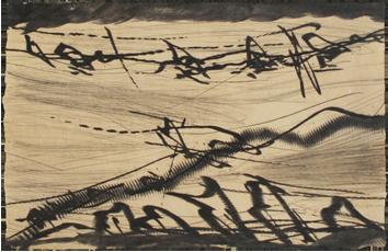 Gravure originale signée de  : Rhétoriques I