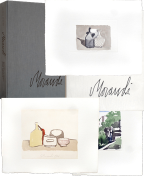Illustrated book de  : Omaggio a Morandi
