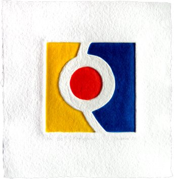 Original signed print de  : Pièce montée