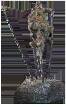 Signierte Original-Bronze de  : Wurzel