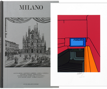 Illustrated Book de  : Milano