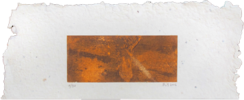 Original signed etching de  : Composition VIII