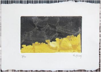 Original signed etching de  : Composition XI