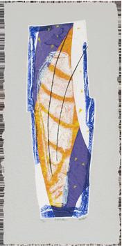 Original signed etching de  : Surf