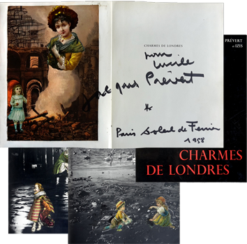 Original signed book de  : Charmes de Londres