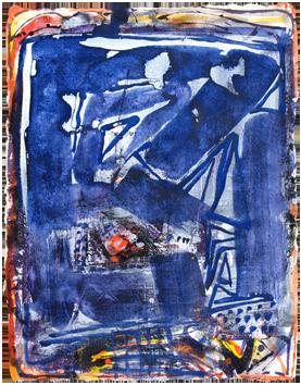 Oeuvre unique de  : Composition XIV