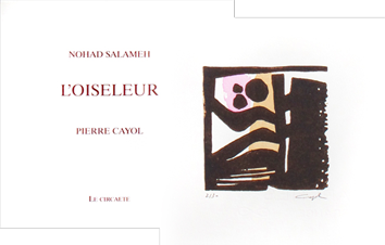 Modern illustrated book de Cayol Pierre : L'oiseleur