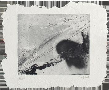 Original signed etching de  : Composition XVIII