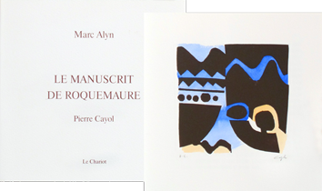 Illustrated book de Cayol Pierre : Le manuscrit de Roquemaure
