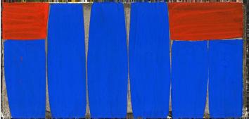 Oeuvre unique signée de  : Composition XII