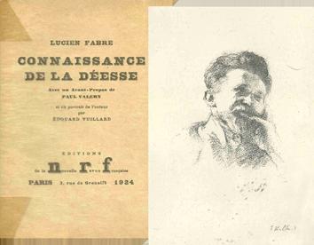 Livre avec lithographie de  : Connaissance de la Déesse