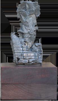 Original sculpture de  : Palme-Plomb