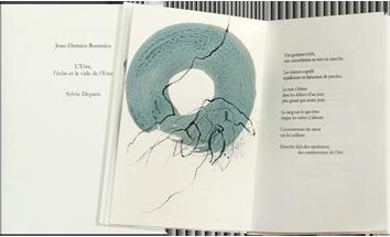 Livre original signé de  : L'être, l'éclat et le vide de l'être