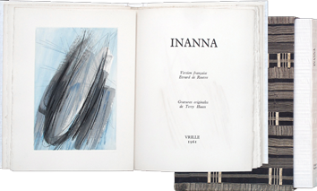 Book with etchings de Haass Terry : Inanna