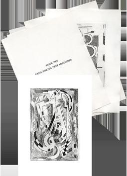 Gravures originales de  : Pensées, Suite des gravures préparatoires